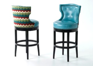 Barstools with attitude