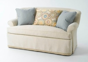 A classic settee that everyone wants to sink into.