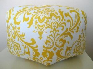 This traditional pouf is great for that sophisticated room.