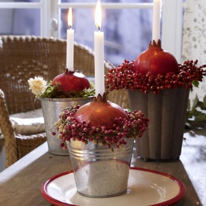 Pomegranate and Candles
