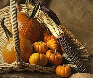 Baskets and Pumpkins