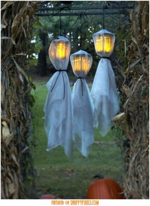 A fun way to light a path or backyard