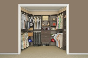 Wood closet solutions