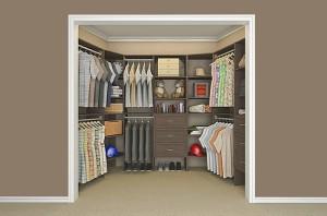 Wood closet solutions