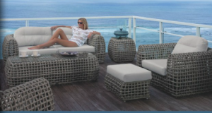 Woven outdoor furniture - a Florida must have