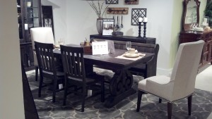 A great design oriented dining look from magnussen.