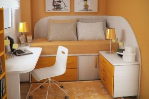 Simply-small-bedroom-paint-ideas