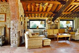 Tuscan design created from provincial and traditional elements.