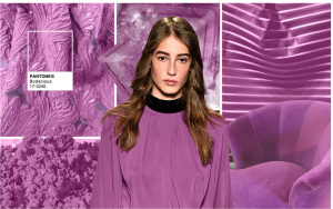 Think back to pantone's color radiant orchid, this is an off shoot of that color. again deeper and richer and more versatile.