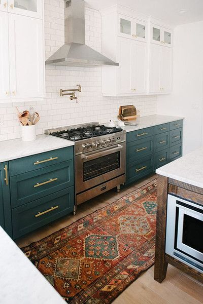 4e875c461587789d5cbf07832cd1db4c--teal-cabinets-two-tone-cabinets