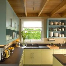 e2de4424a97d26a20e00fdcf212fad16--eclectic-kitchen-open-shelves