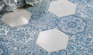 motif-hexagone-carrelage-hexagonal-patchwork-bleu-blanc